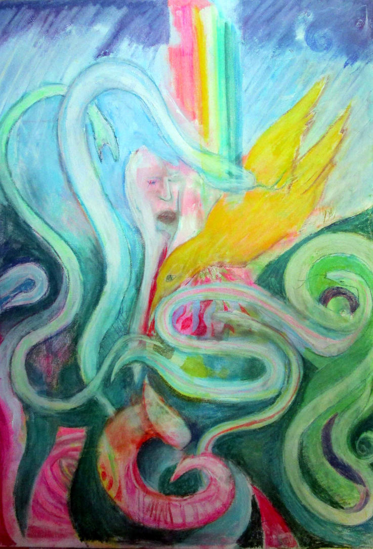 The Serpent and the Rainbow version 2 by chesya