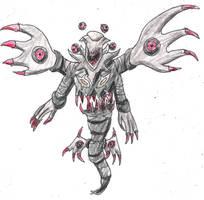 The Hellspawn Pokemon by ElementalHeroShadow2