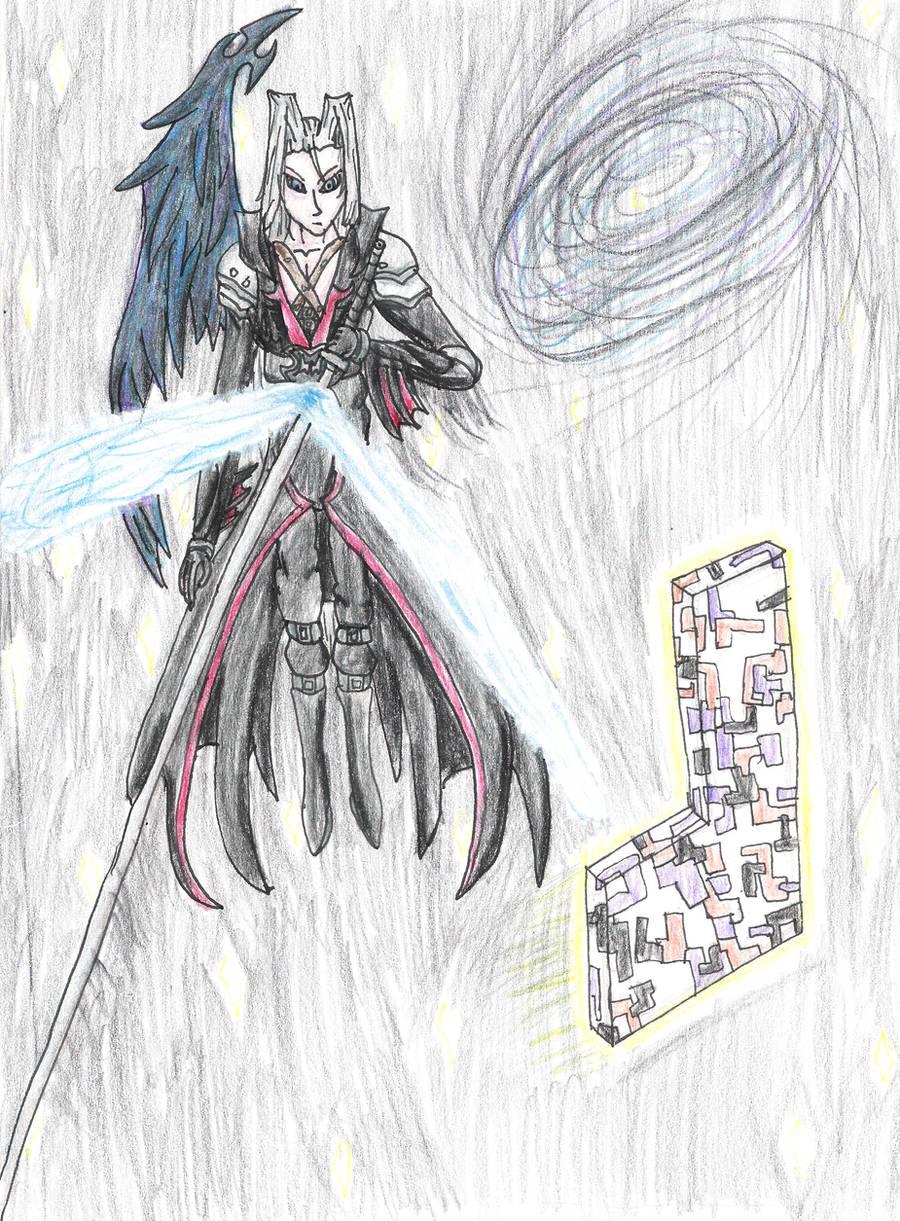 Sephiroth VS Missingno by ElementalHeroShadow2
