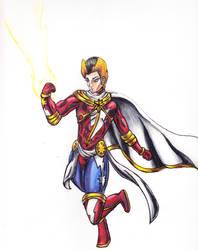 Captain Marvel Mashup by ElementalHeroShadow2