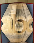 Folded Book Art - ABC