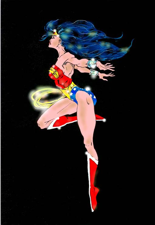 Wonder Woman Colors Flying By Ddcobbs On DeviantArt