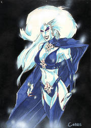 Lady Death colors by ddcobbs