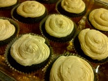 Guinness Cupcakes by KittyKatCakes