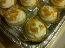 Hazelnut Creme Brulee Cupcakes by KittyKatCakes