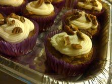 Sweet Potato Spice Cupcakes by KittyKatCakes