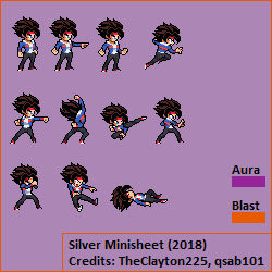 Welcome back! Silver Minisheet (2018)