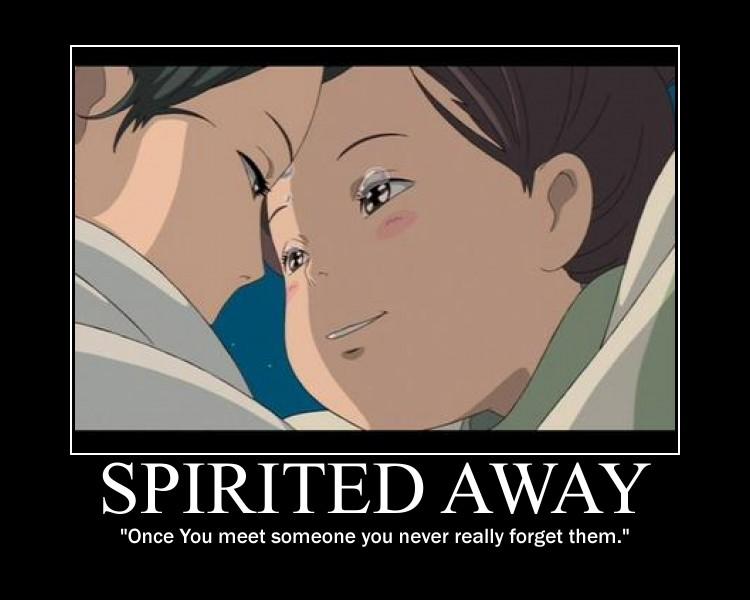 Spirited Away Love Quotes. QuotesGram