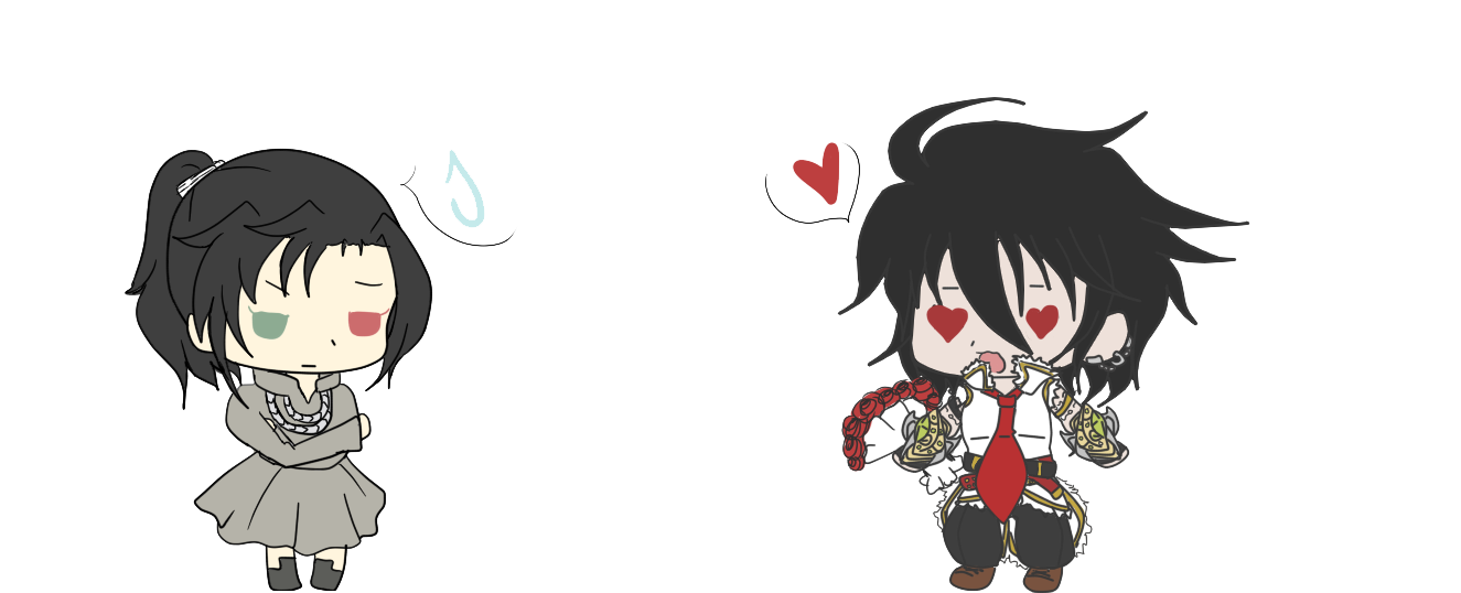 +Request+ Chibi lucy et rodrigue by Meruruu