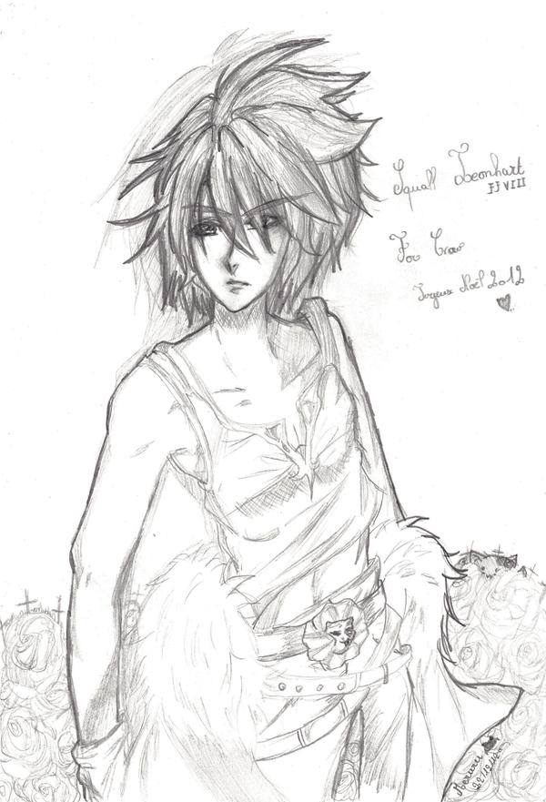 +Gift+ Squall Leonheart. by Meruruu
