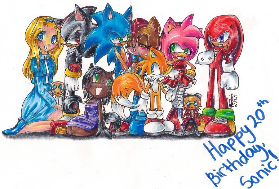Happy Birthday Sonic by Splenda-idLife