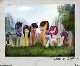 Chillin' In Ponyville by Tarantad0
