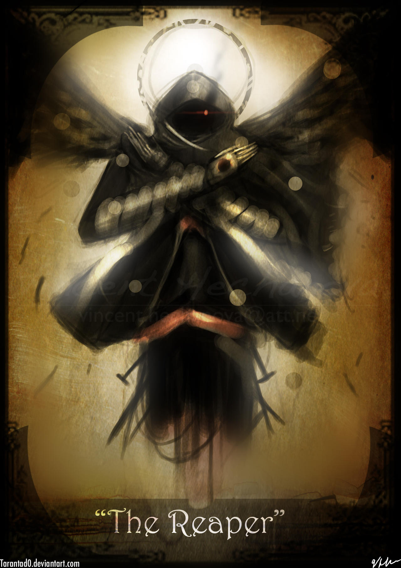 Reaper Tarot Card by Tarantad0