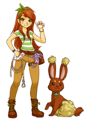 You are challenged by Ace Trainer Andy! by Fuye