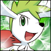 Shaymin avatar 100 by 100 by Ilona-the-Sinister