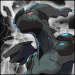 Zekrom 150 by 150 avatar by Ilona-the-Sinister