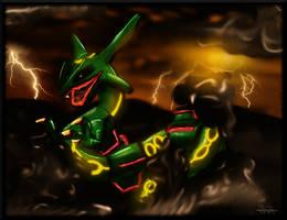 Rayquaza by II-Art