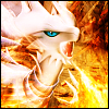 Reshiram Icon by Ilona-the-Sinister