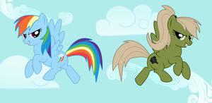 Rainbow Dash and Tornado Twist