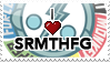 I :heart: SRMTHFG Stamp by II-Art