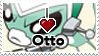 I :heart: Otto Stamp by II-Art
