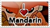 I :heart: Mandarin Stamp by Ilona-the-Sinister