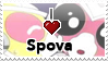 I :heart: Spova Stamp by II-Art