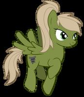 The green Tornado Pony by II-Art