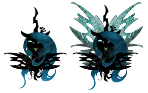 T-Shirt Design: Queen Chrysalis *FOR SALE ON RB* by II-Art