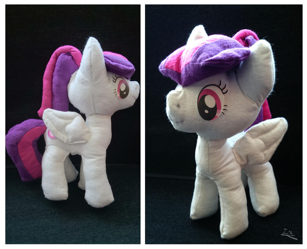 First Pony Plush: Amy by Ilona-the-Sinister