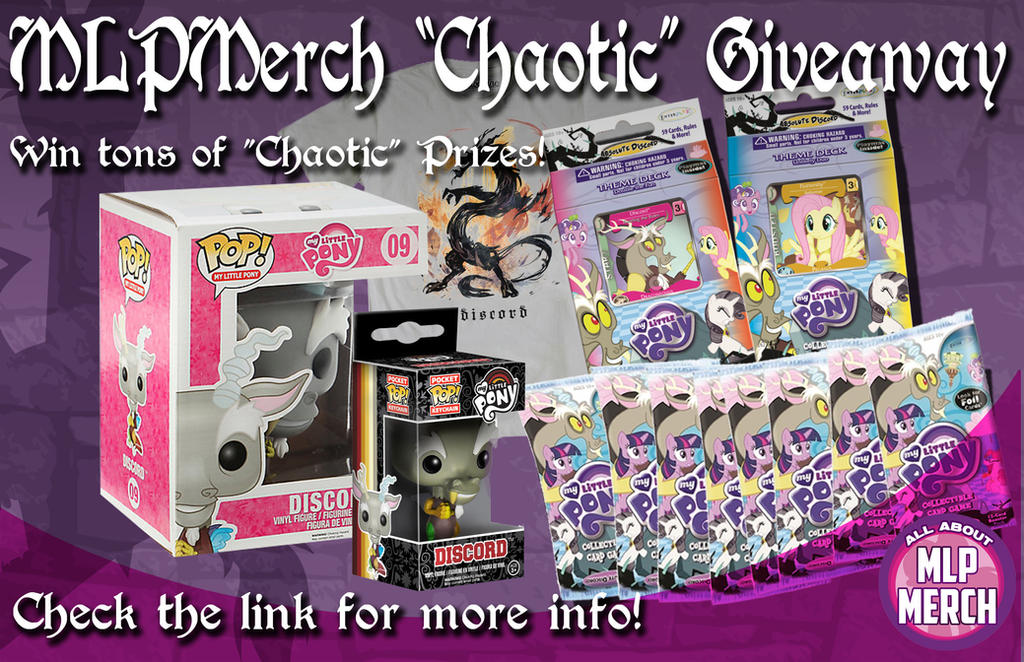 MLPMerch Chaotic Giveaway by Ilona-the-Sinister