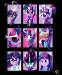 Forms of Twilight Sparkle