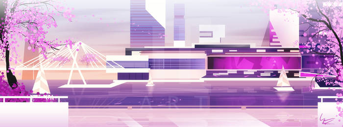 Mirrors Edge Catalyst: The View District by II-Art