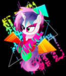 Synthwave Sweetie Belle