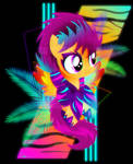Synthwave Scootaloo
