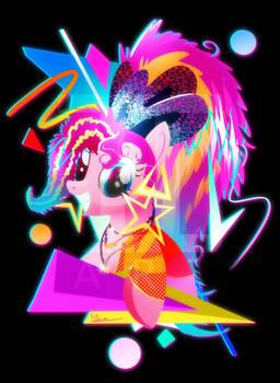 Synthwave Pinkie Pie