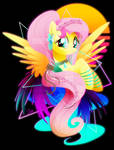 Synthwave Fluttershy