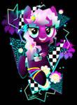 Synthwave Cheerilee by II-Art