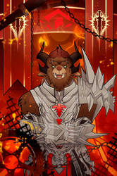 Rytlock Brimstone: Blood Legion Tribute by II-Art