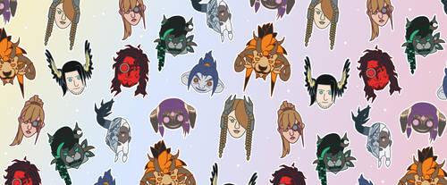 GW2 Gang Pattern by II-Art