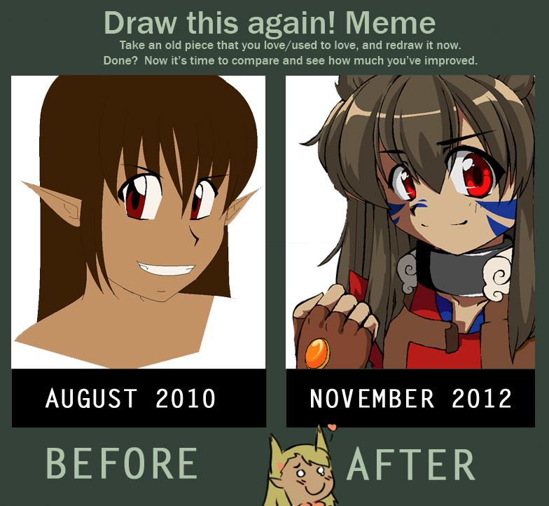 [draw this again Meme] by RockuSocku