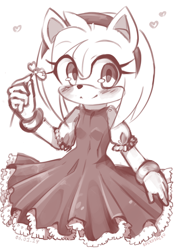 Amy Rose by RockuSocku