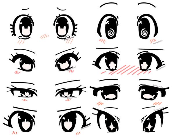 Anime Eye Shapes Anime Eye Shape Ideas by