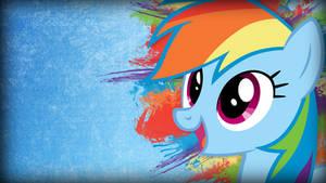 Grunge Rainbow Dash Wallpaper