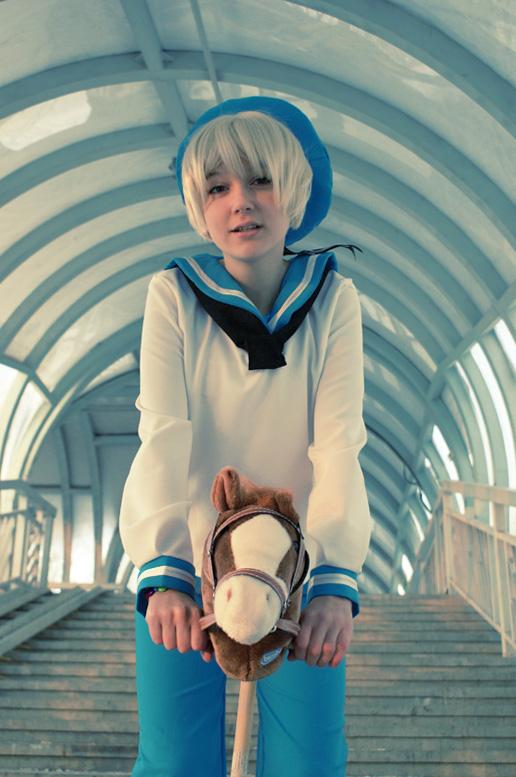 APH: Sealand-kun by Hitooomi