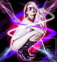 Sexy Babe in Sunglasses by gfx-micdi-designs