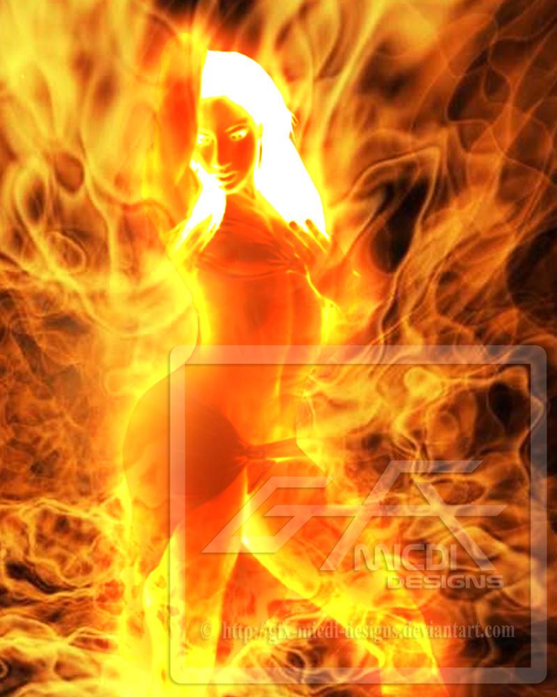 fire goddess by gfx micdi designs on deviantart. Black Bedroom Furniture Sets. Home Design Ideas