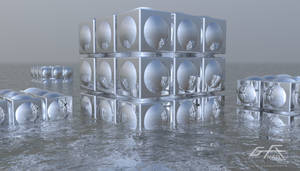 Cube in Water