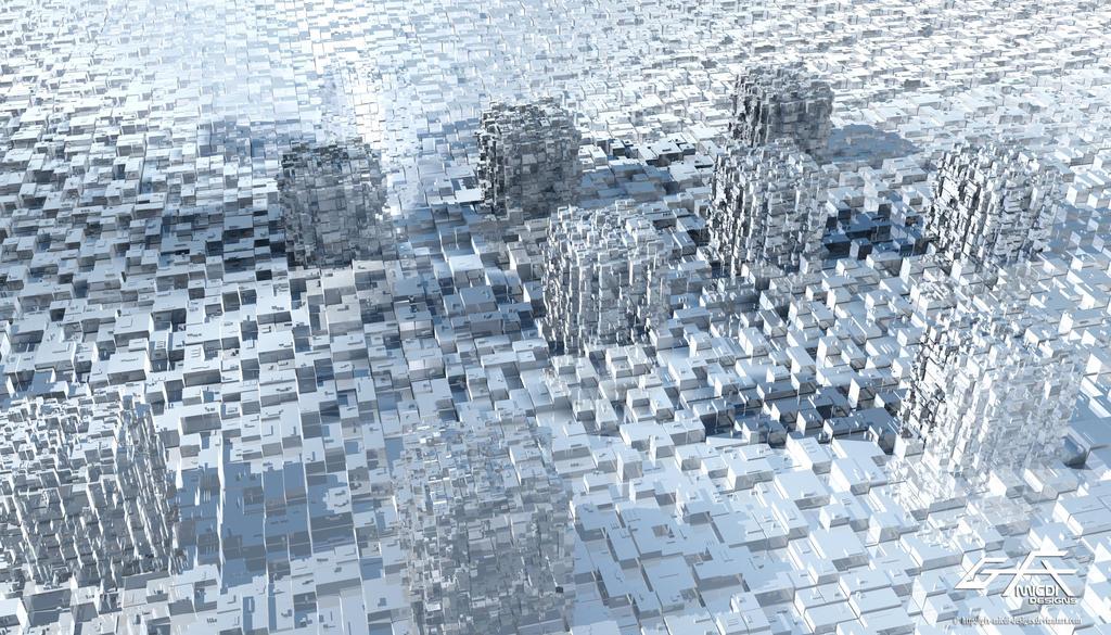 Cube Prisms by gfx-micdi-designs