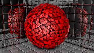 Abstract Ball Widescreen Ver